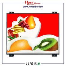 "High Resolution 7"" 8"" Resistive Touch Open Frame LCD Monitor With 100mm*100mm VESA Hole"