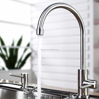 Goose Neck Kitchen Faucet And Kitchen