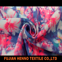 Chinese style spandex cotton print fabric digital printed fabrics custom printed fabric