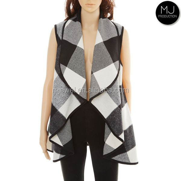 Wholesale women waterfall vest