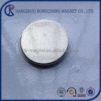 nafeb china made cheap high quality strong permanent sintered disc neodymium magnet 60mm