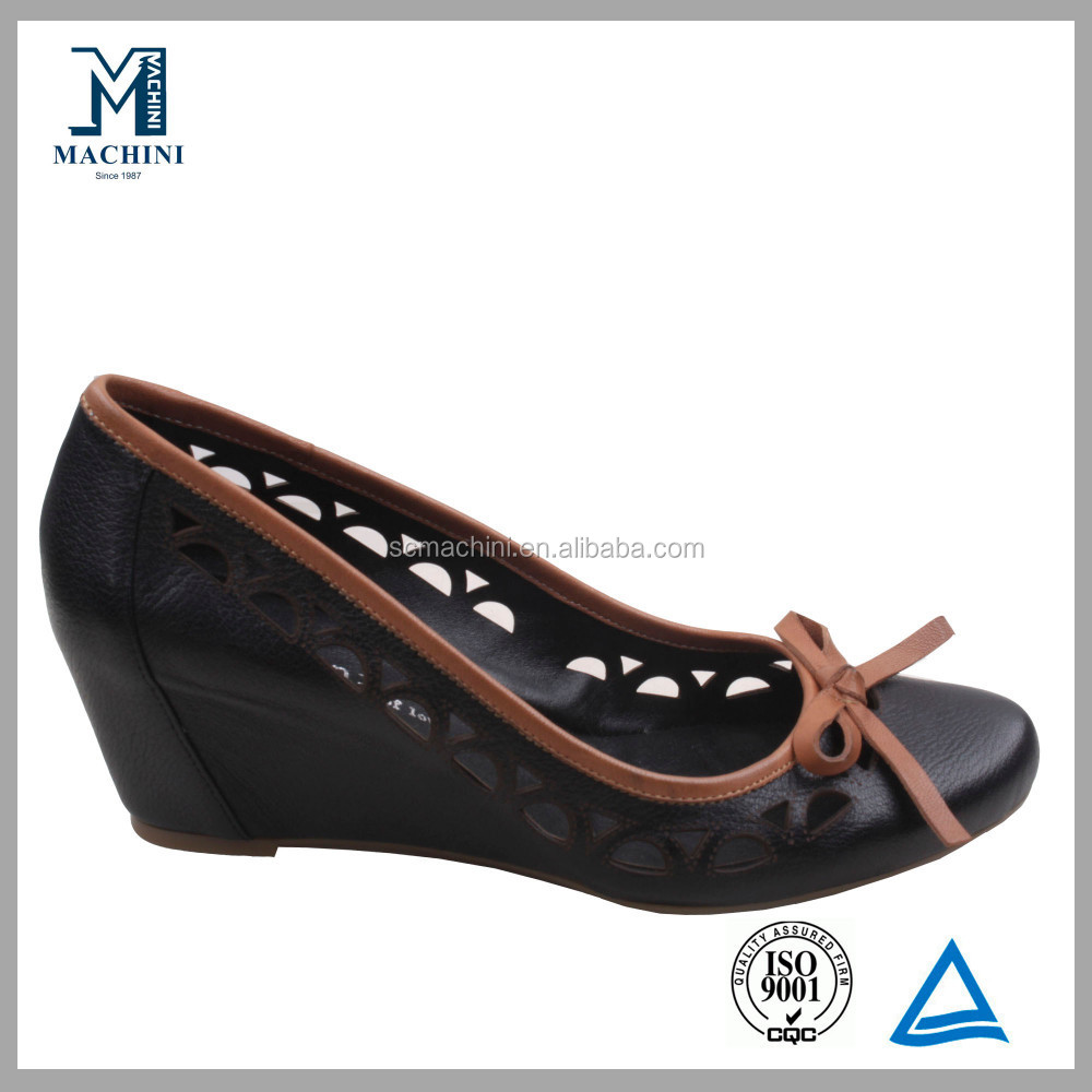 2014 Spring summer genuine leather ladies shoes