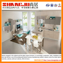 modern small size room style melamine kitchen cupboard