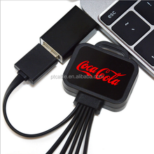New design high usb cable, N52 self connect micro usb cable