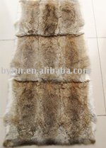 BY-T050 rabbit fur plate, fur plate, rabbit skin plate