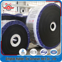 Qingdao supplier Industrial rubber Steeply inclination conveyor belts for sale