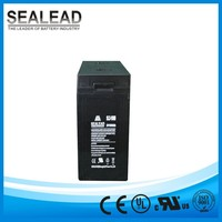 Guangzhou manufacturer 2v 1000ah lead acid free maintenance rechargeable batteries for integrates solar cell