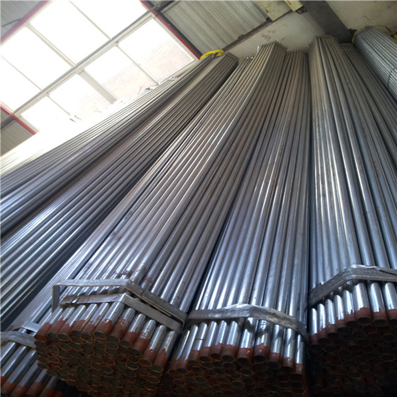 BS1387 Hot dip galvanized steel pipe/ galvanized steel tube