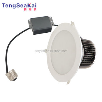 E27 PLC CFL Recessed Down light replacement 60 90 120 degree 50W 80W 100W Recessed led spot downlight