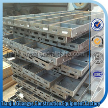 Tianjin Guangye reusable formwork for concrete/used concrete forms sale/metal forms and braces