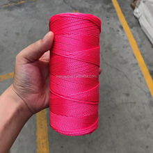 glass fiber square braided rope / packing pp braided rope