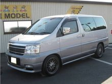 2001 NISSAN ELGRAND X LIMITED /Van/ Used car From Japan / ( bl0012 )