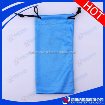 Microfiber eyeglass protecting storaging pouches pure color