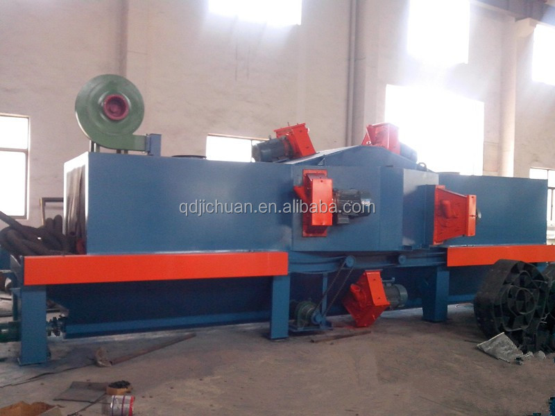 aluminium profile shot blasting machine