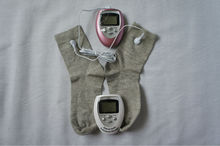electro tens massage machine with socks, diabetic socks