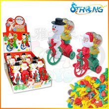Christmas Bike Candy Toys with Wind Up