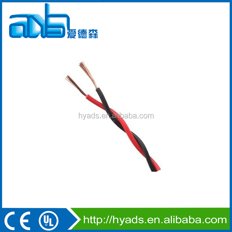 2016 1.5 sq mm copper core pvc insulation flexible wire