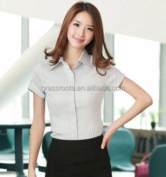 2016 popular office uniform designs for women korean style for Office uniform design catalogue