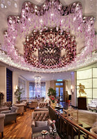 Luxury Crystal Bubble Ball Light For Hotel Restaurant