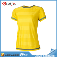 wholesale women football jersey low price made in China