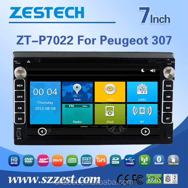 android car pc for peugeot 307 dashboard auto radio with rearview camera radio