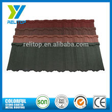 1335mm*420mm color sand coated steel roofing tile