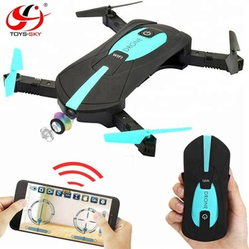 Best selling S162 Foldable Selfie drone 720P Wifi FPV camera with Smartphone Remote control Double control JY018 Pro