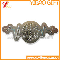Popular promotional brain wave plated lapel pin/plain lapel pins