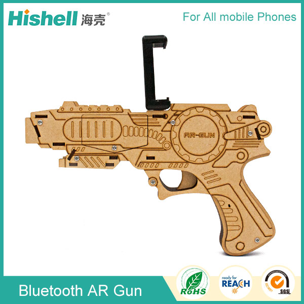 Wireless gamepad , AR Gun game controller for ios, joy stick for android