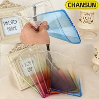 High quality transparent dual color soft tpu case cover for ipad mini 4