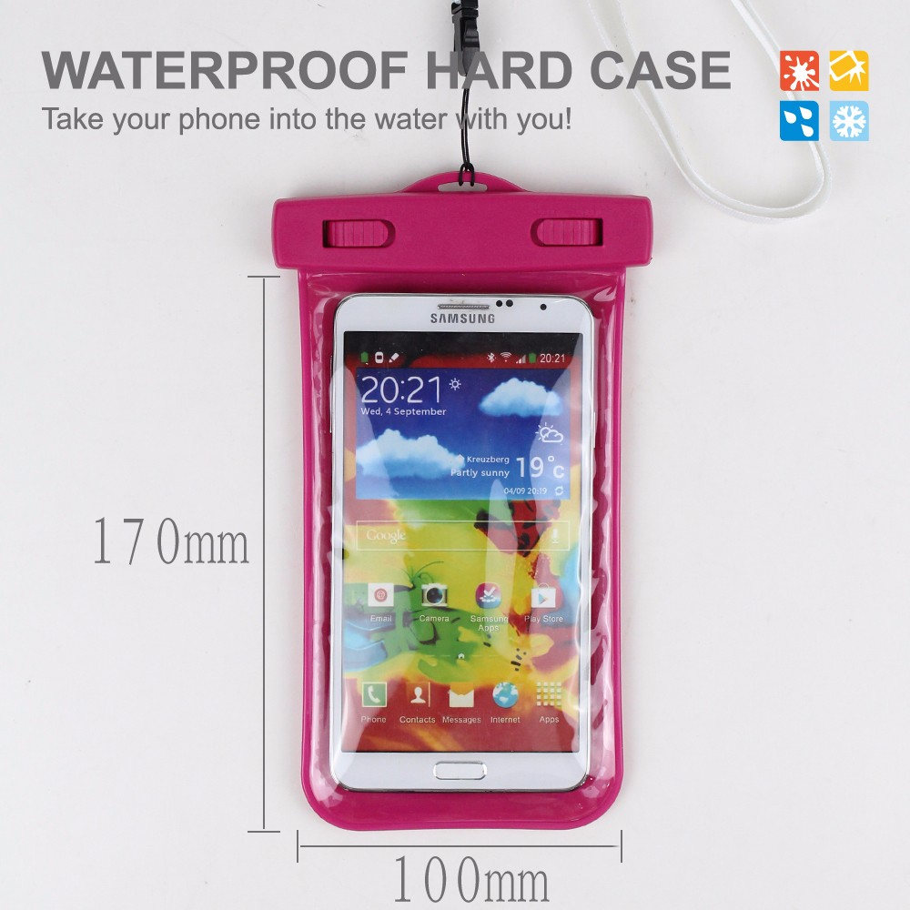 New Product Travel Diving Waterproof Case For Mobile Phone