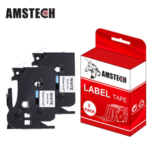 Compatible <strong>P</strong>-touch Tape TZe 231 TZe231 TZ-231 12mm 0.47'' Black on White 8m for Brother Label Tape TZe Tpae