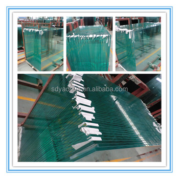 6mm 8mm 10mm 12mm 15mm clear and tinted toughened glass for curtain wall