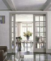 Energy star double/triple insulating glass PVC/UPVC sliding doors with grills,interior/entry house doors,PVC/UPVC doors