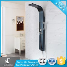 Outdoor Shower Panel Stainless Steel Led Massage With Faucet Bathroom Fittings