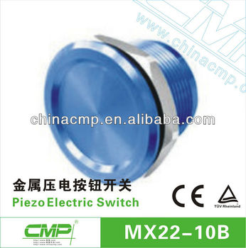 Stainless Steel 316 Waterproof IP68 Piezo Switch