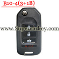 Best Quality B10-04 3+1 Button Remote Key for URG200/KD900/KD200