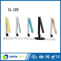 designer eye-protection touch led battery operated table lamp
