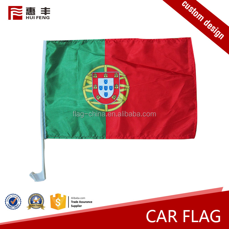Free sample election flying car window flag holders