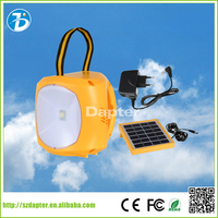 Pure white ABS solar rechargeable camping light solar lantern