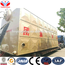 Wooden fuel moving chain grate rice husk wood fired low pressure steam boiler waste for industries 4 ton