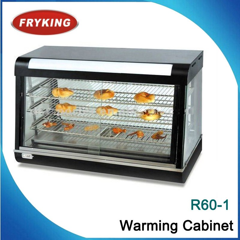 Stocked Pie Warmer /Food warmer Display Cabinet