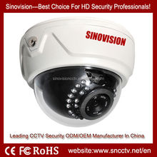 hot HD SDI 1080P 2.0 MegaPxiel Vandalproof IR Dome CCTV Security Camera