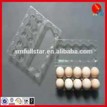 plastic egg box