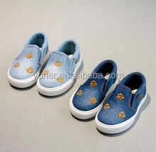 2016 New style kids canvas casual shoes
