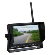 2.4G digital wireless car monitor with 3-channel video input