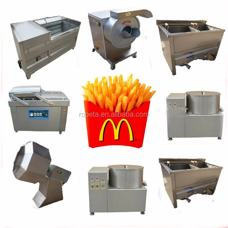 mcdonald's french fries packaging boxes/potato chips making machine