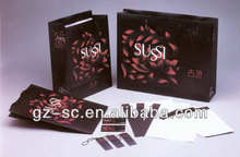 Unique Shopping paper bag (2012 hot sale) with printable logos