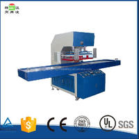 Factory selling directly high frequency automatic pp file folder making machine