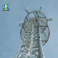 Nine years foreign trade experience Steel lattice telecom cellular tv gsm antennas cell tower